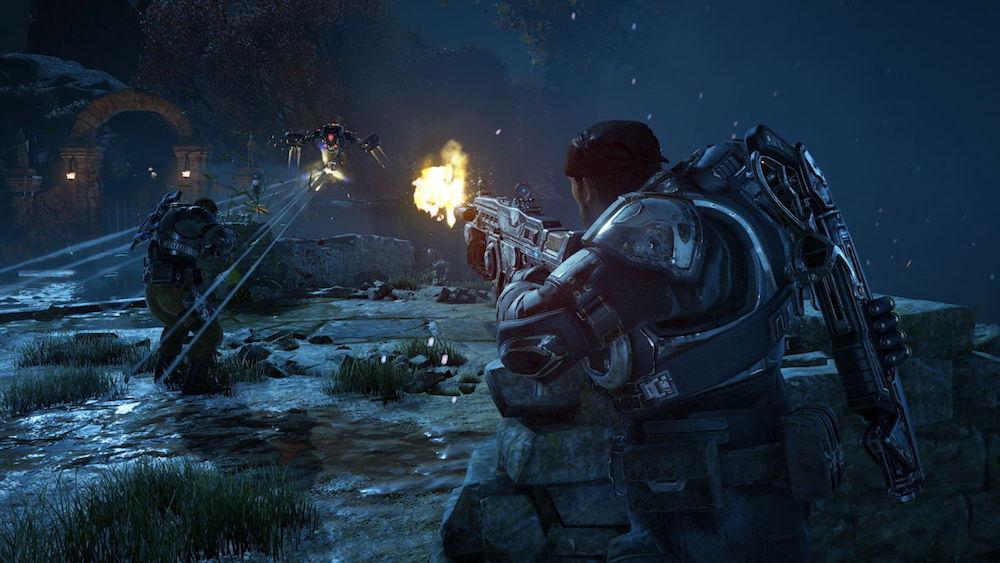 The battlefield of Gears of War 4