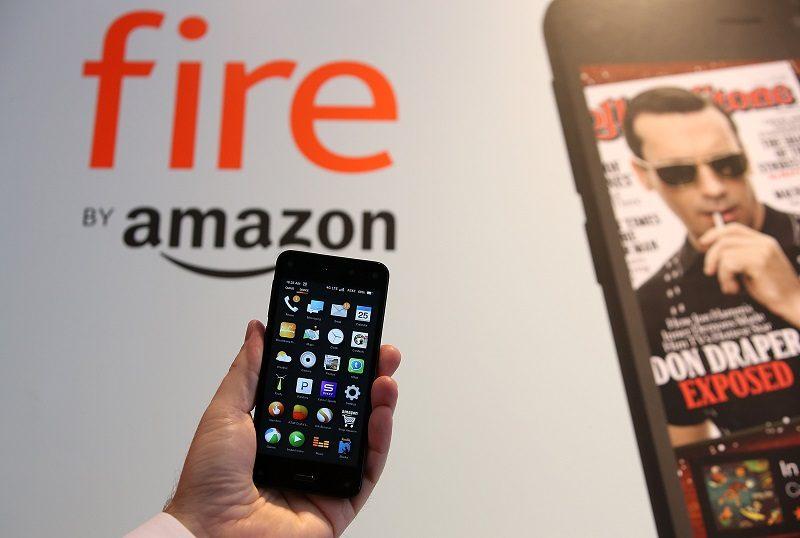 An Amazon Fire phone