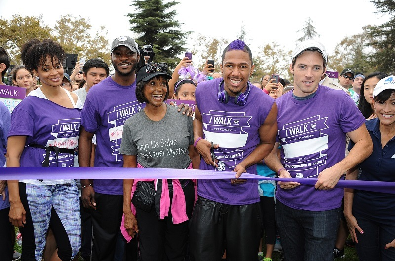 Entertainers attend a Walk to End Lupus in L.A.