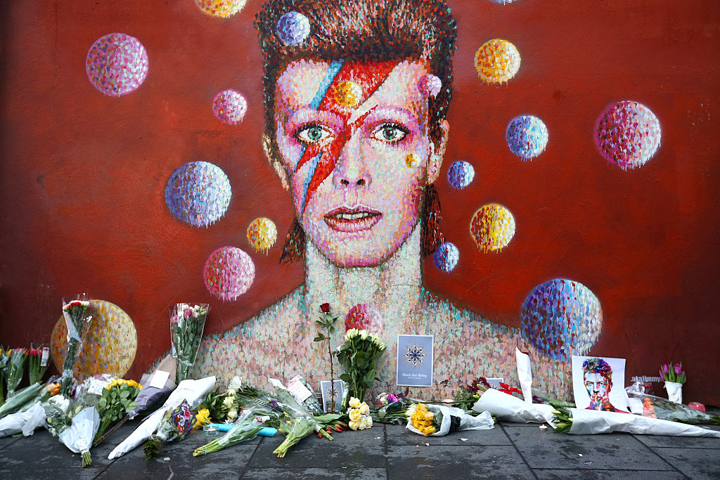 A memorial for David Bowie