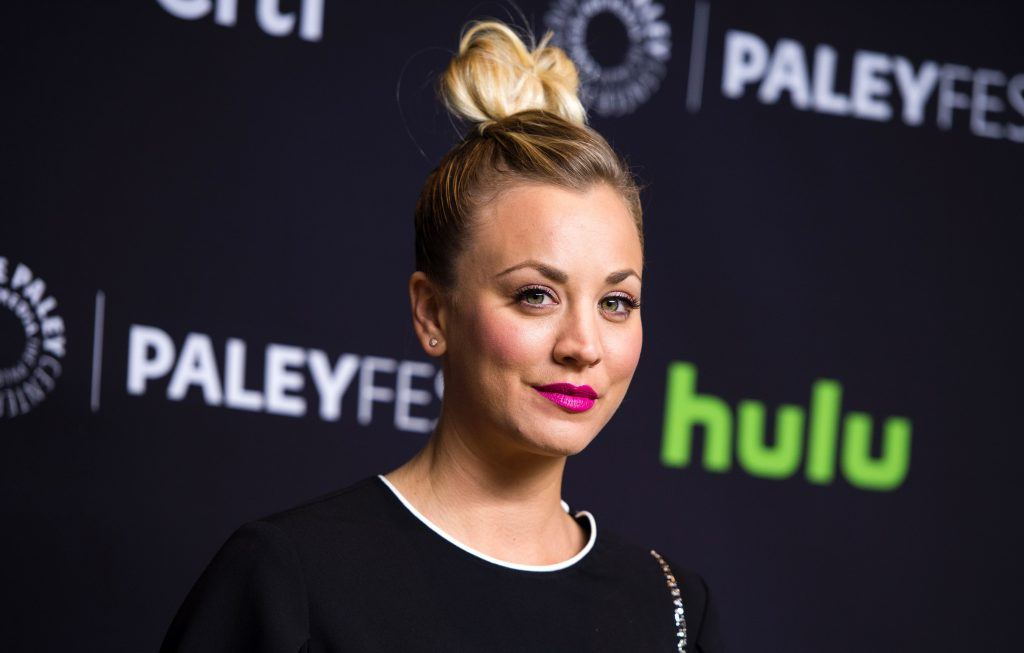 Kaley Cuoco   Valerie Macon/AFP/Getty Images