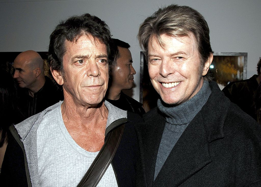 David Bowie and Velvet Underground legend Lou Reed