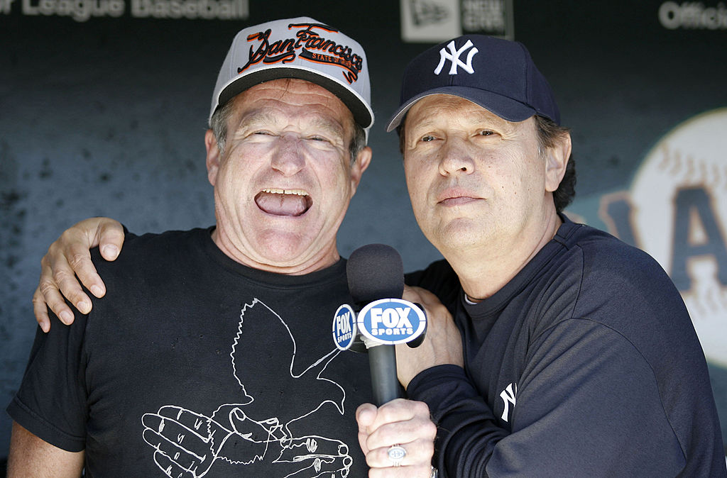 Robin WIlliams and Billy Crystal together in San Francisco