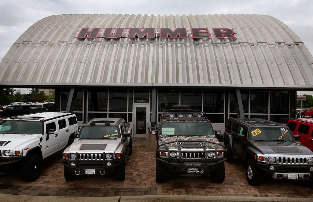 Hummer dealership in 2009