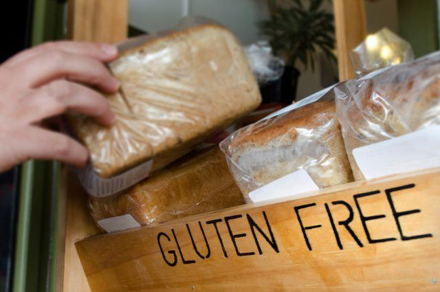 gluten-free loaves of bread