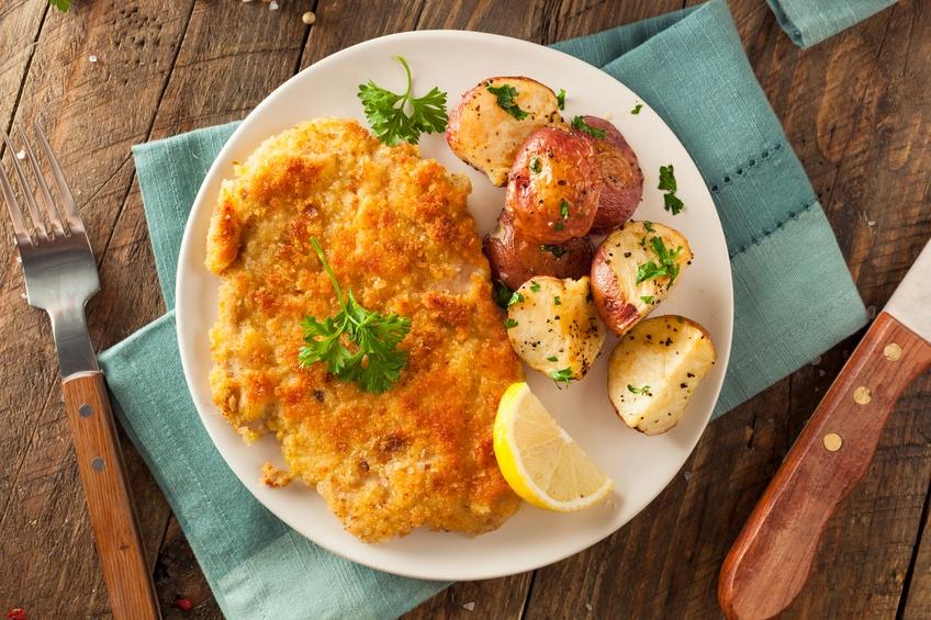 plate of german food