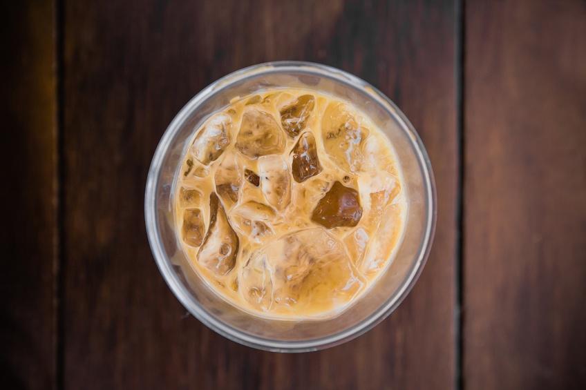 Ice coffee top