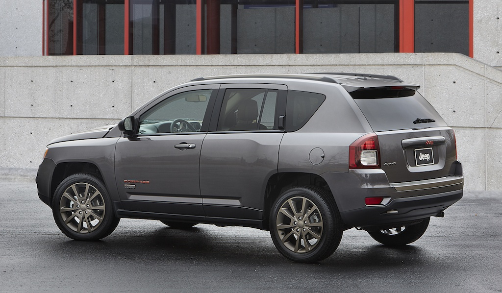 Gray Jeep Compass