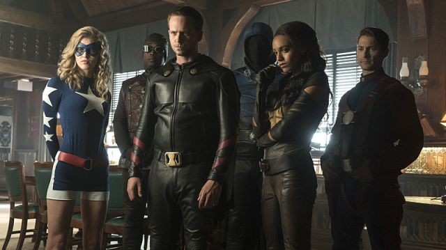 The Justice Society of America in DC's Legends of Tomorrow   The CW
