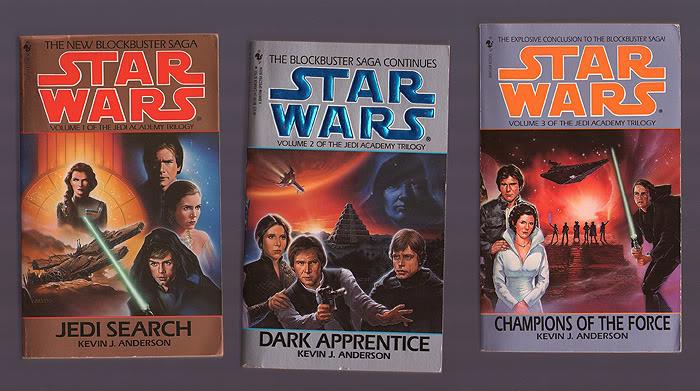 The Jedi Academy Trilogy - Star Wars