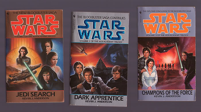 The Jedi Academy Trilogy - Star Wars