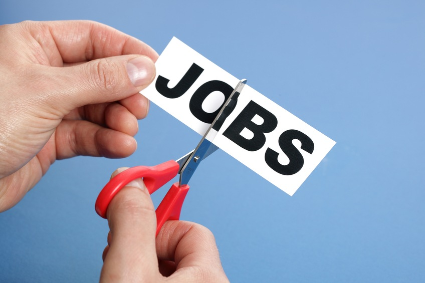 Cutting jobs concept for downsizing