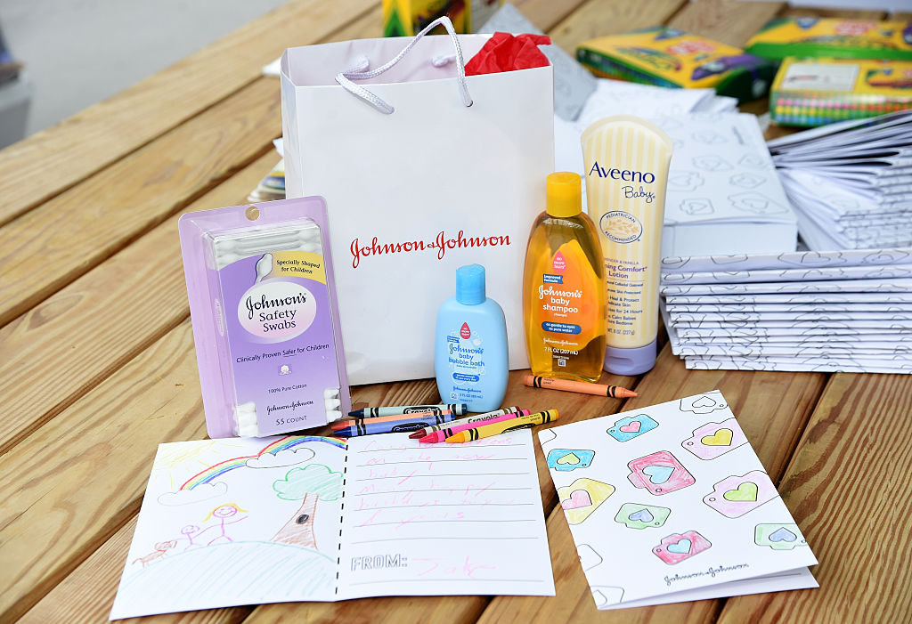 Johnson & Johnson baby products