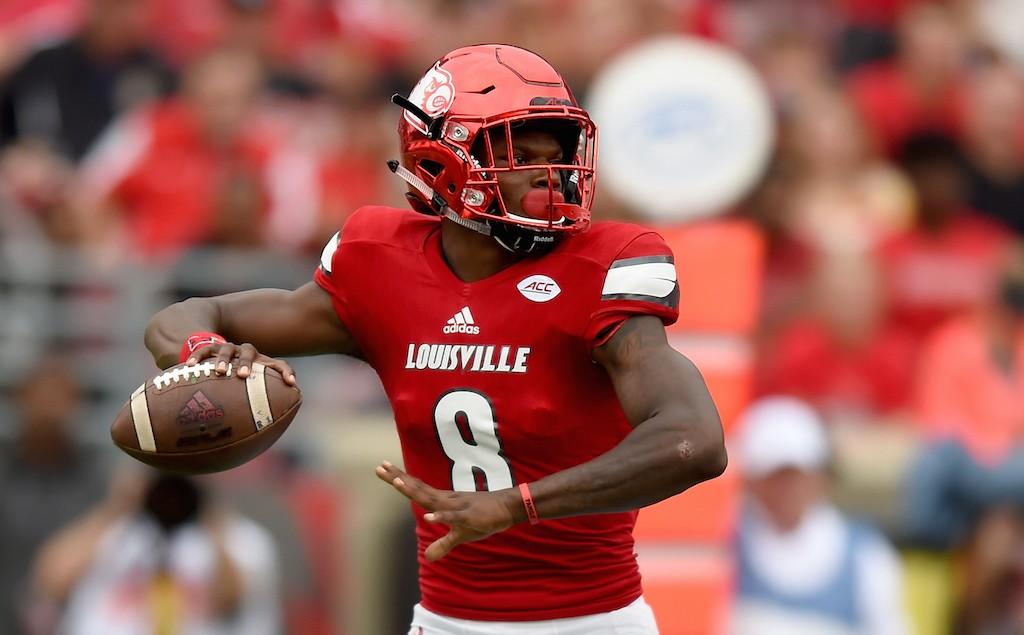 Louisville player