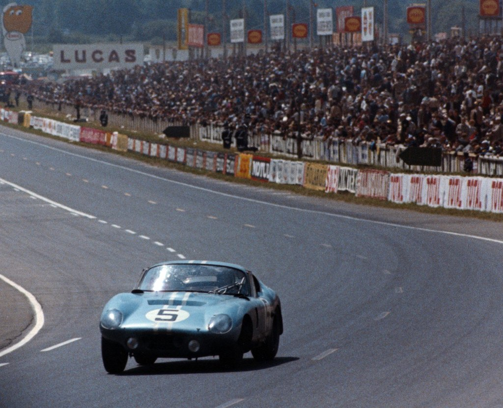 Shelby Daytona Coupe at the 24 Hours of Le Mans, 1964