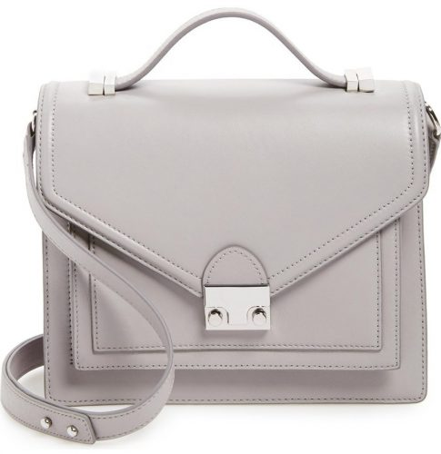 Loeffler Randall 'Medium Rider' Leather Satchel