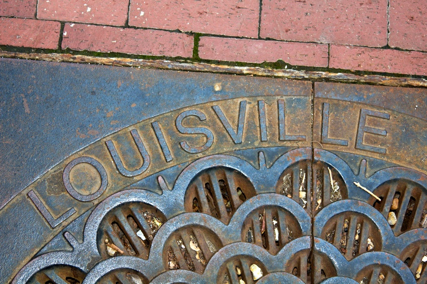 Louisville - manhole cover