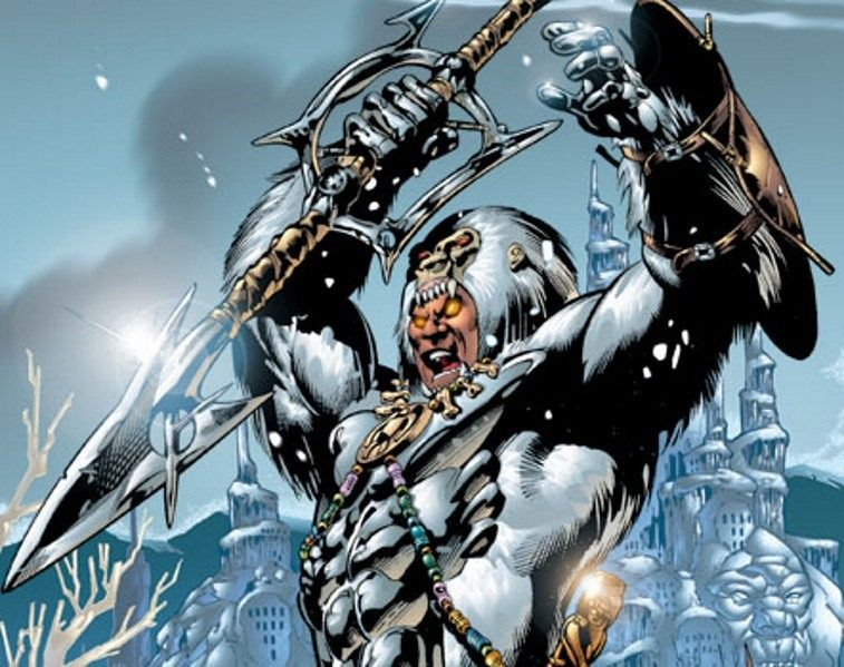 Marvel's Man-Ape, as seen in the comics