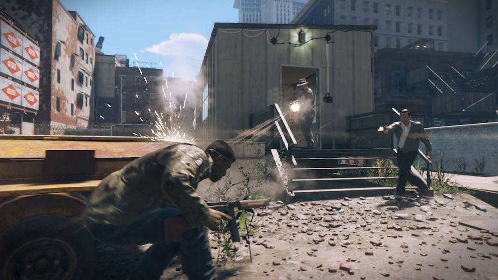 Shootout in 'Mafia 3'
