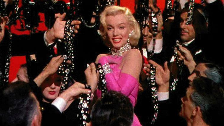 Marilyn Monroe in Gentlemen Prefer Blondes