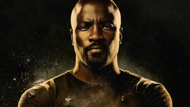 Mike Colter looking tough in 'Luke Cage' poster art.