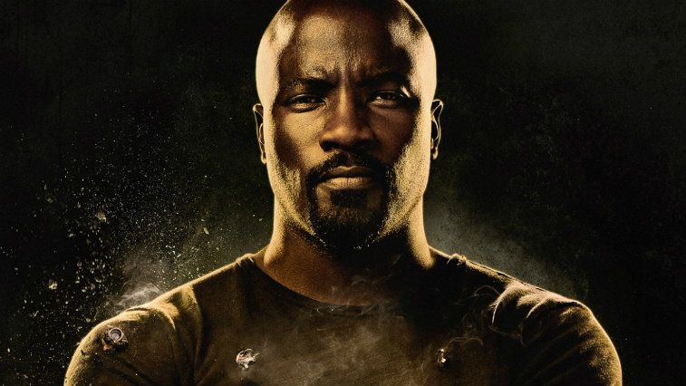 Mike Colter looking tough in Luke Cage poster art