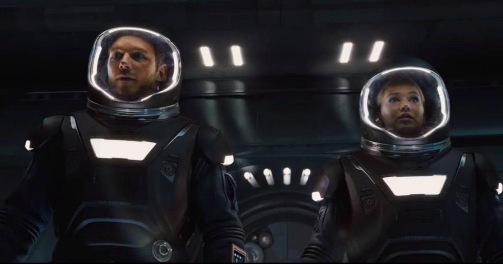 Passengers with Chris Pratt and Jennifer Lawrence
