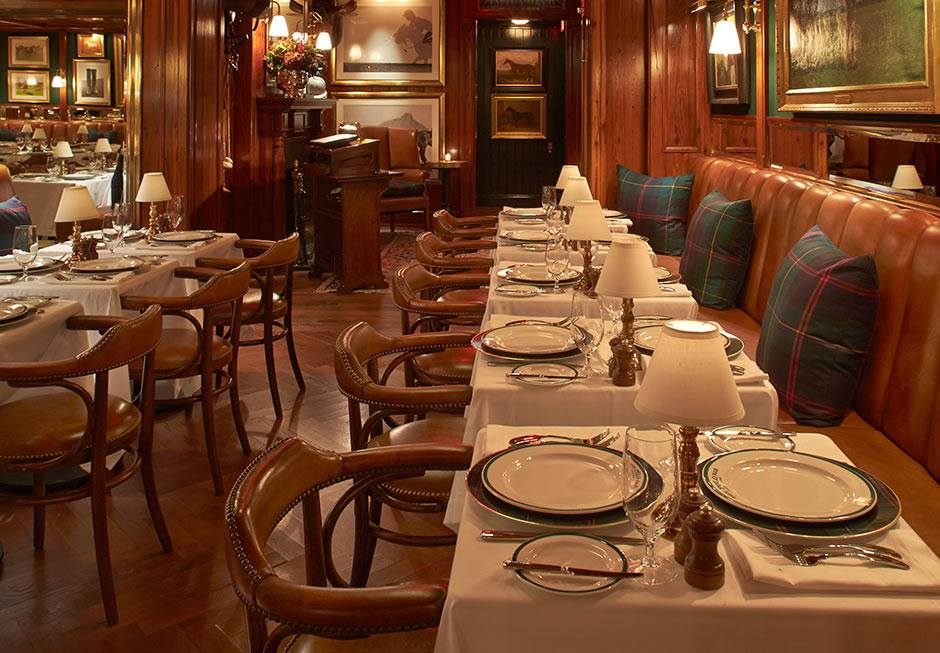 Polo Bar restaurant interior