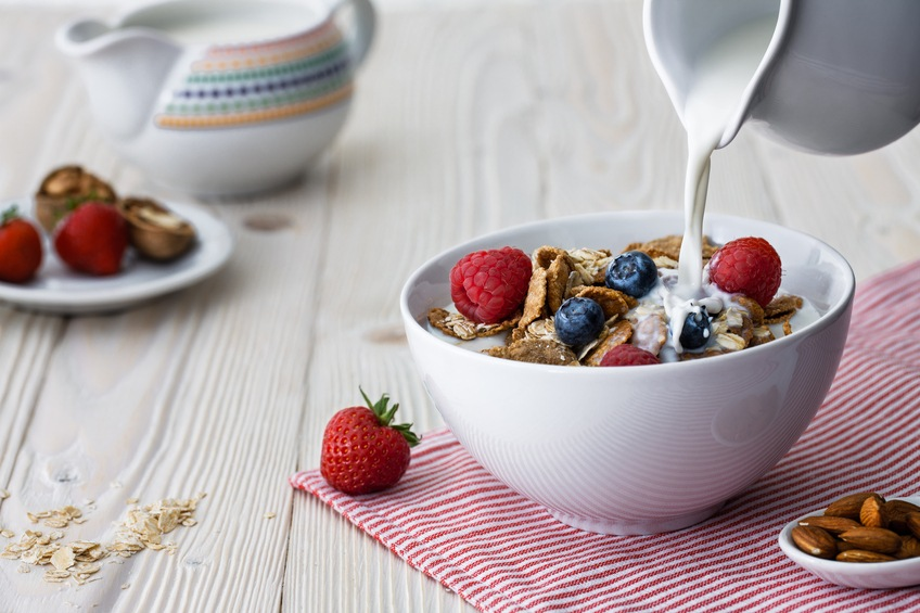 Add fruit to your cereal for an even healthier breakfast.