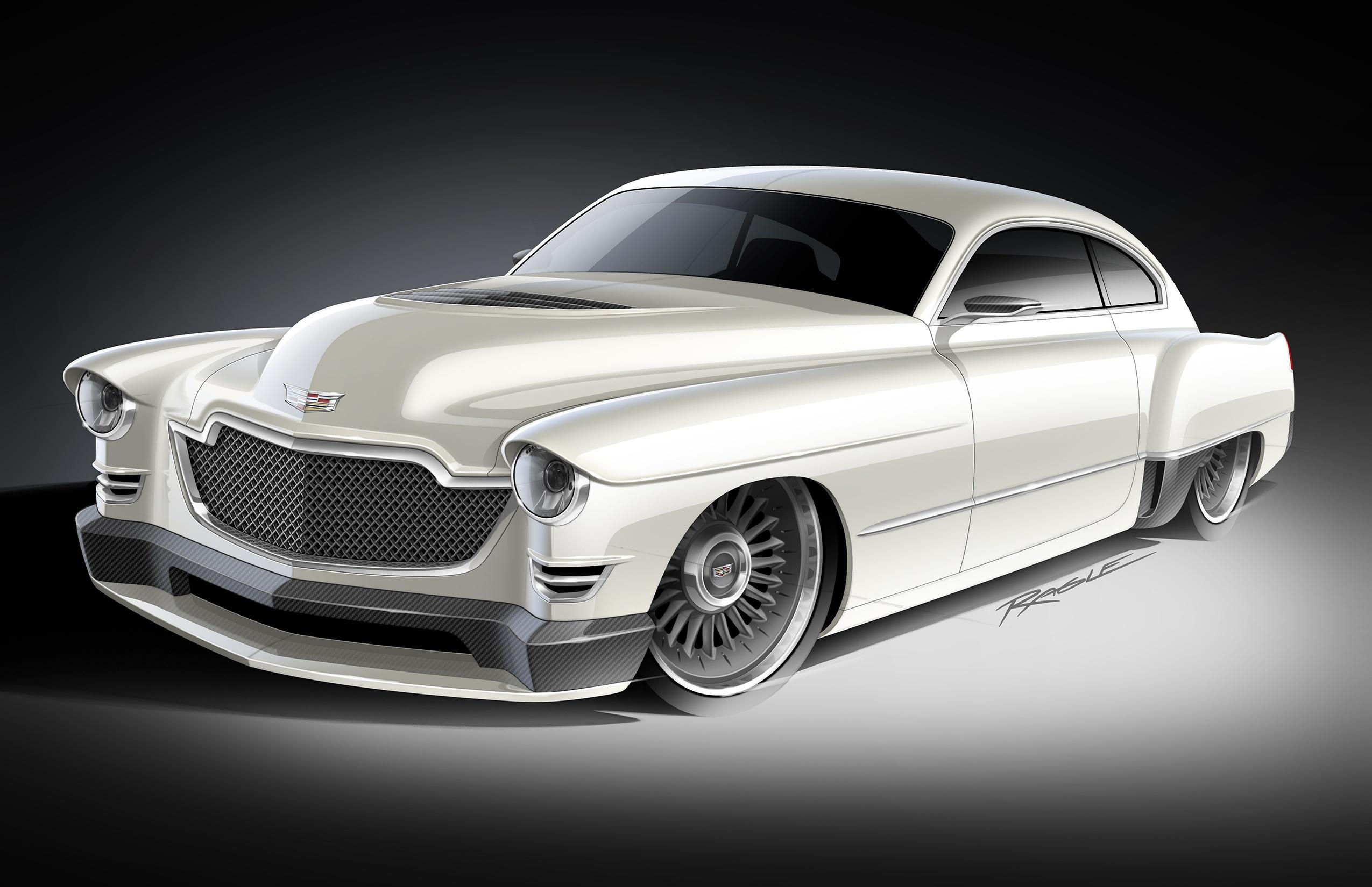 "Ringbrothers' 1948 Cadillac ""Madam-V"""