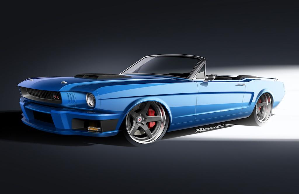 "Ringbrothers' 1965 ""Ballistic"" Mustang"