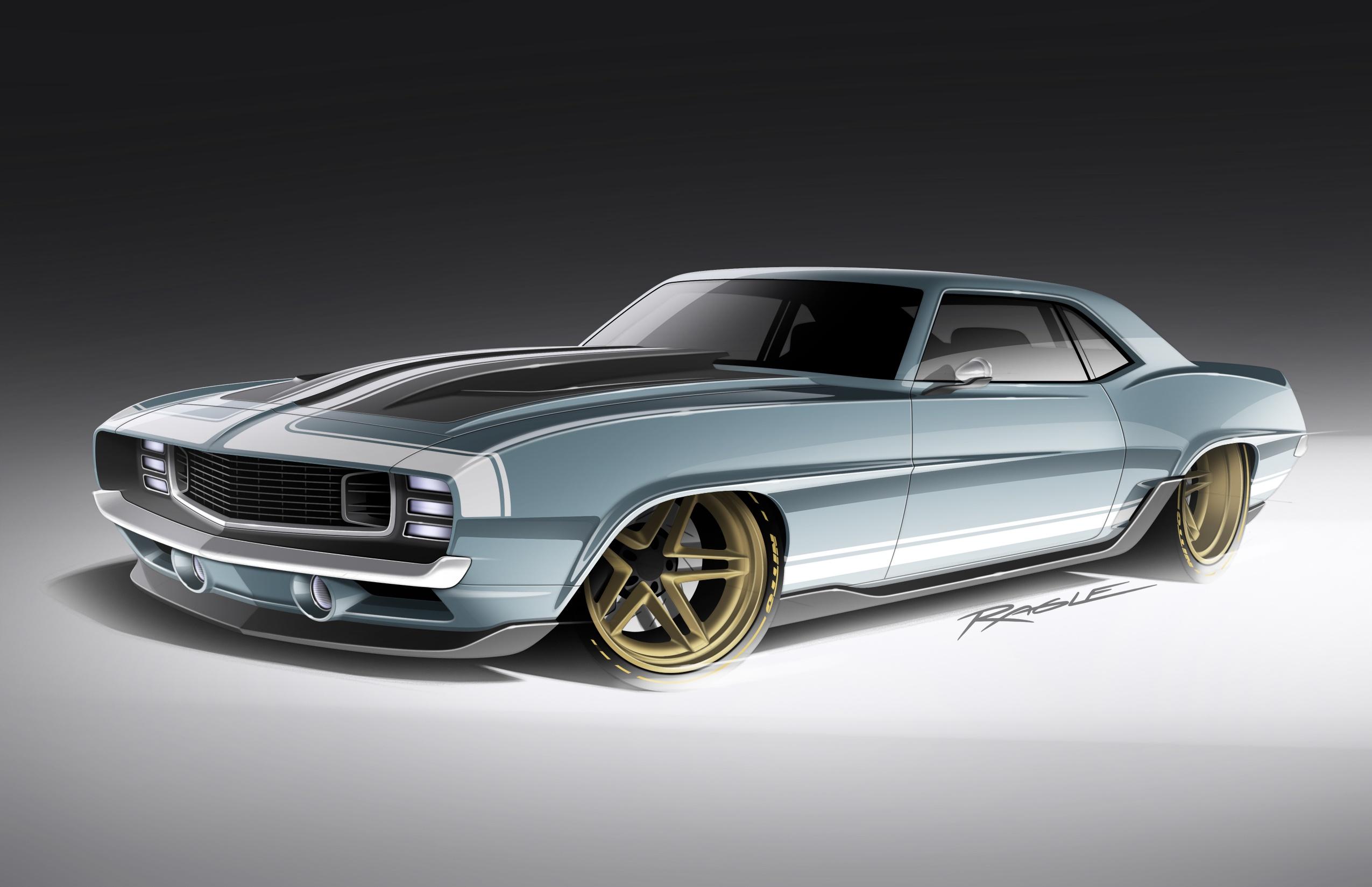 """Ringbrothers's 1969 """"G-Code"""" Camaro"""