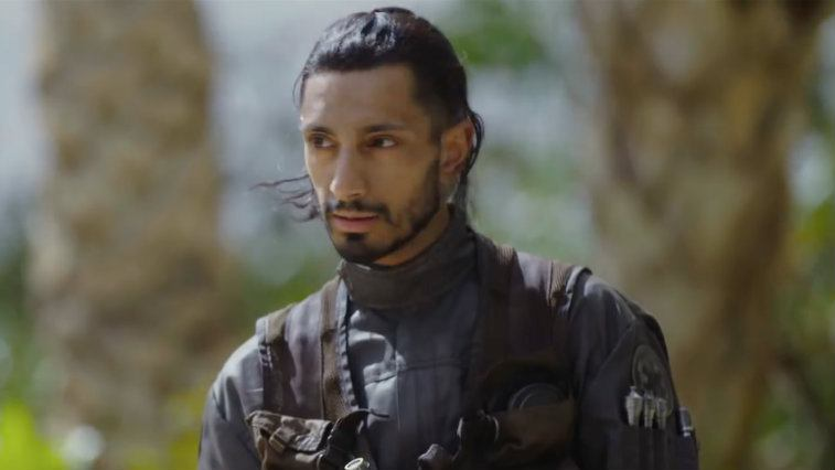 Riz Ahmed in Rogue One   Lucasfilm