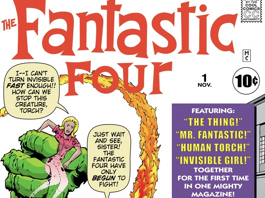 Fantastic Four #1 - Marvel Comics