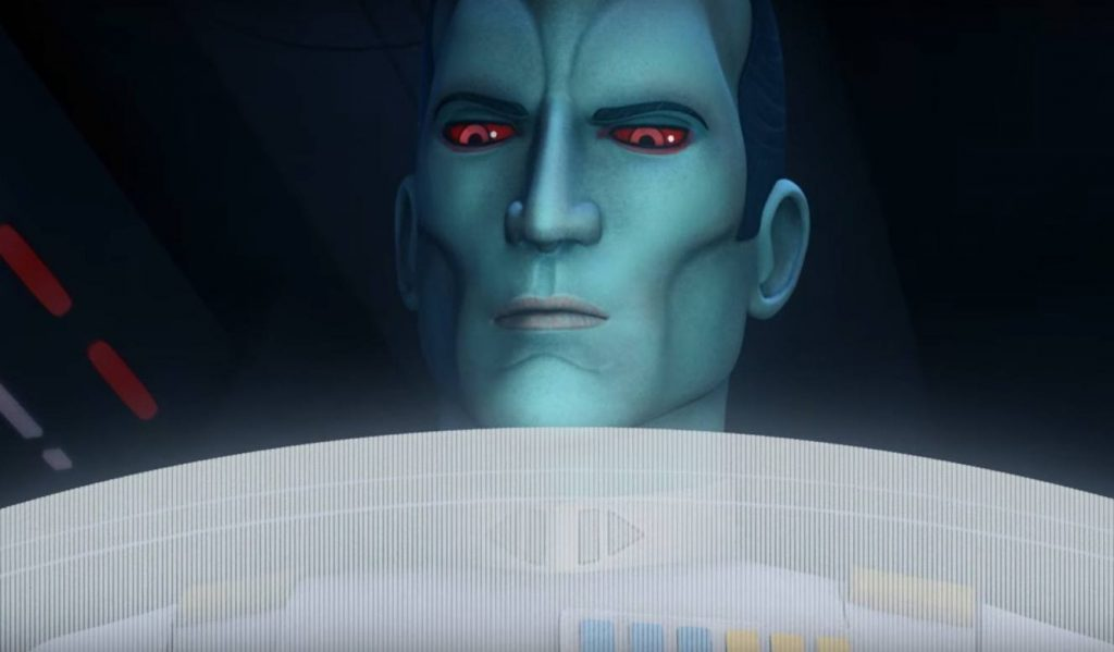 Grand Admiral Thrawn - Star Wars Rebels