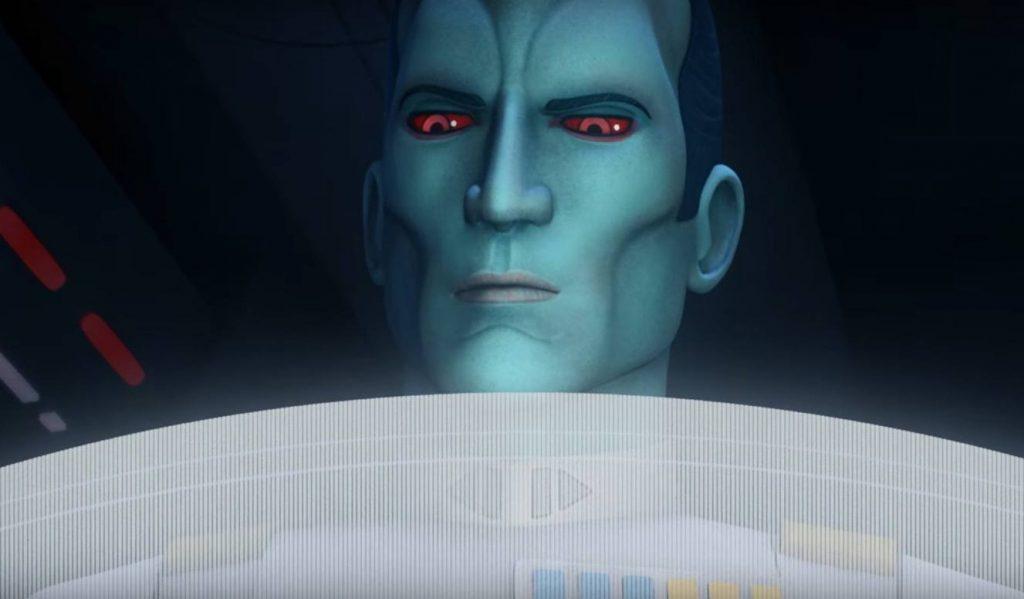 Grand Admiral Thrawn - Star Wars Rebels