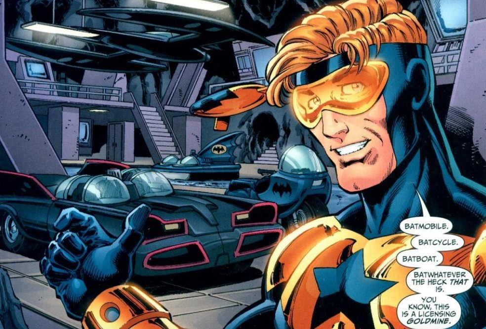 Booster Gold - DC Comics