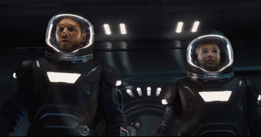 Passengers - Chris Pratt and Jennifer Lawrence