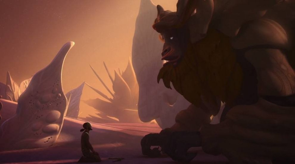 The Bendu - Star Wars Rebels