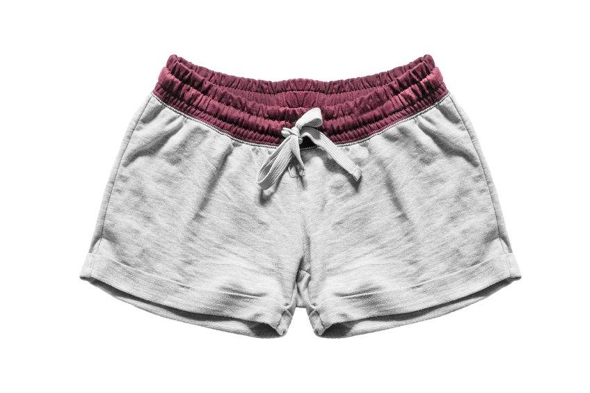 Gray sport shorts