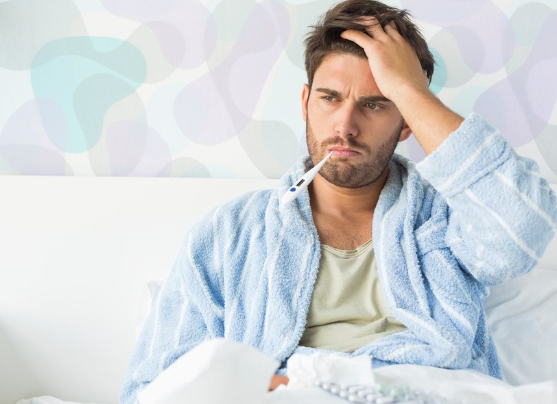 A man suffering with a mystery illness