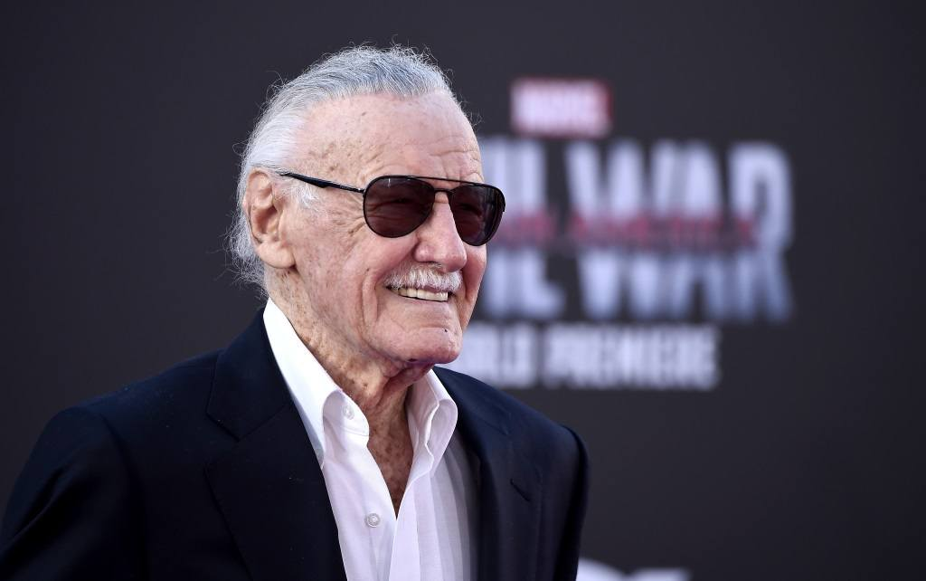 Stan Lee attends the premiere of Marvel's 'Captain America: Civil War'