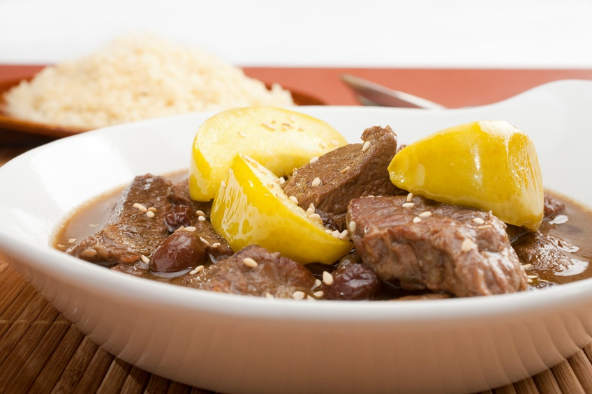 lamb and quince stew