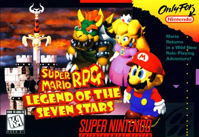 Cover art for 'Super Mario RPG: Legend of the Seven Stars'