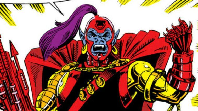 Taserface Marvel Comics