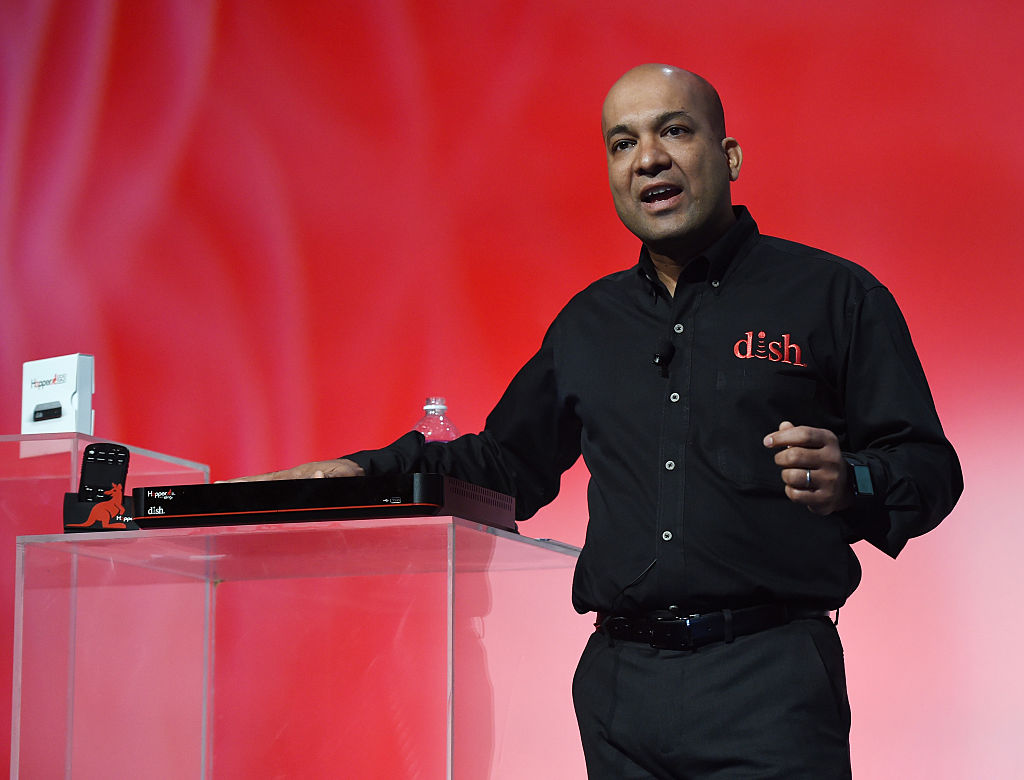 DISH Executive Vice President and Chief Technology Officer Vivek Khemka introduces the Hopper 3 DVR
