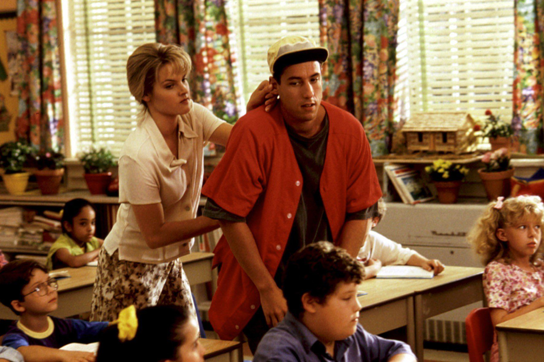 Veronica Vaugh, who had Billy Madison hot for teacher in 'Billy Madison, used the poor man's sex drive against him to help him achieve