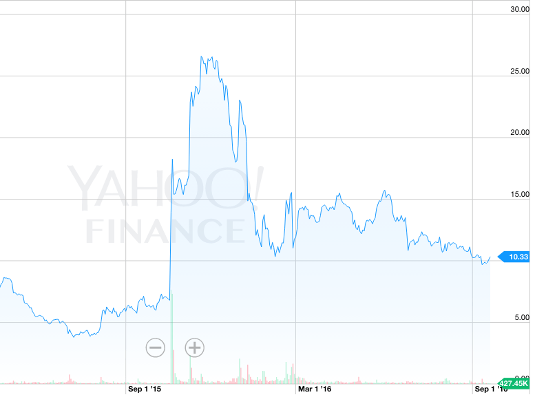 weight watchers stock