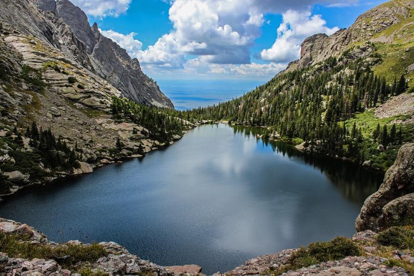 Willow Lake, headed towards Kit Carson