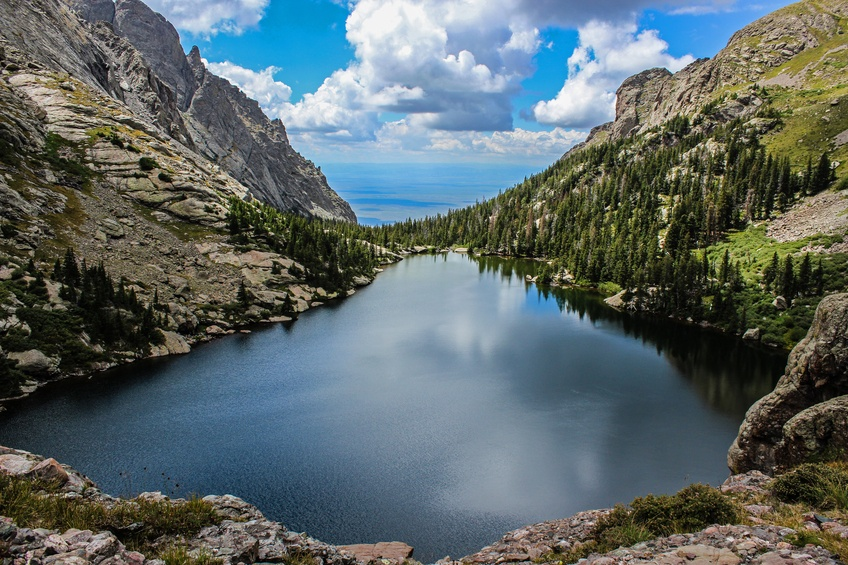 Willow Lake in Colorado